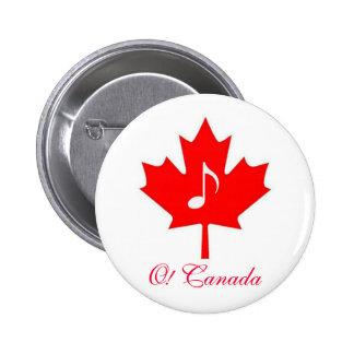 O! Canada ~ July 1st Pin