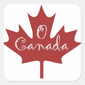 O Canada Square Sticker
