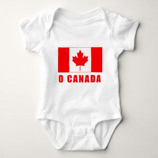 O CANADA with Canadian Flag Tshirts