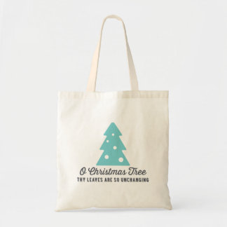 O Christmas Tree | Blue Tote Bag