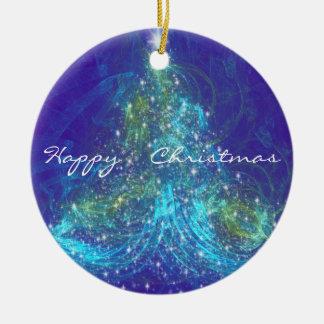 O' CHRISTMAS TREE CERAMIC ORNAMENT