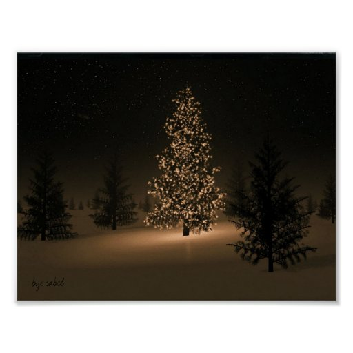 O Christmas Tree Poster