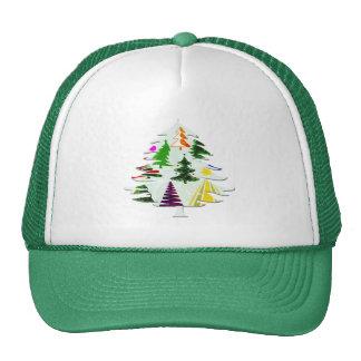 O CHRISTMAS TREES MESH HATS