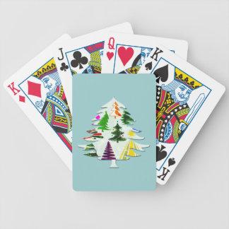 O CHRISTMAS TREES PLAYING CARDS