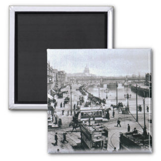 O' Connell Bridge and the River Liffey, Dublin Refrigerator Magnets