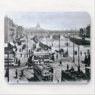 O' Connell Bridge and the River Liffey, Dublin Mouse Pads