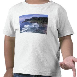 O, costa de Oregon, faro principal de Heceta, Camisetas