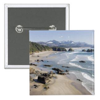 O, costa de Oregon, parque de estado de Ecola, cre Pin Cuadrado