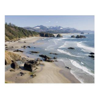 O, costa de Oregon, parque de estado de Ecola, Tarjetas Postales