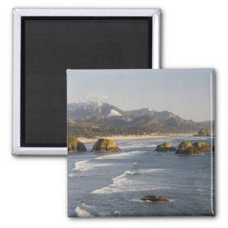 O, costa de Oregon, parque de estado de Ecola, vis Iman De Nevera