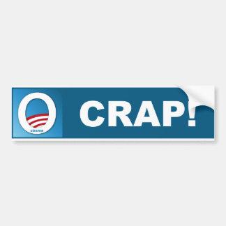 O Crap Bumper Sticker
