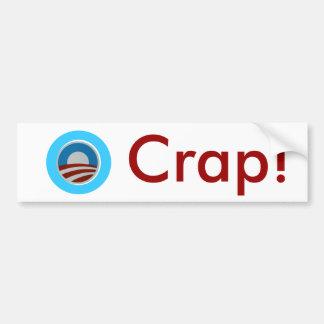 O Crap Bumper Sticker Bumper Stickers