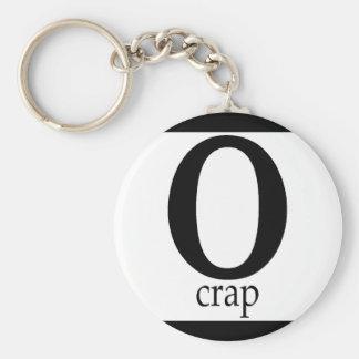 O-Crap - Customized Key Chains