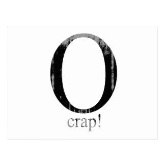 O crap Faded.png Postcard