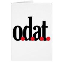 o.d.a.t card