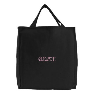 O.D.A.T. (One Day at a Time) Recovery Embroidered Bags