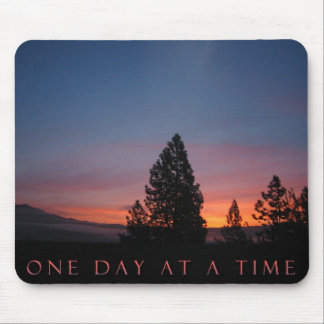 O.D.A.T. One Day at a Time Sunrise Mousepad