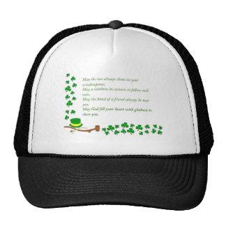 O de la suerte el irlandés gorra