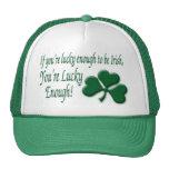 O de la suerte el irlandés gorras de camionero