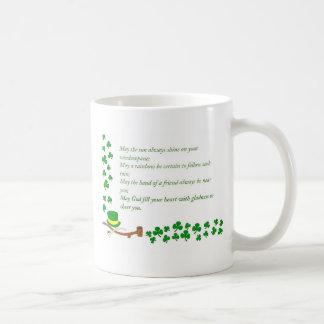 O de la suerte el irlandés taza clásica