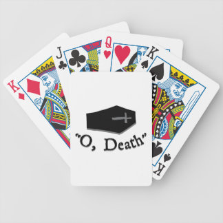 O, Death Bicycle Playing Cards