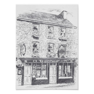 O Donnabhain's Irish Bar Poster
