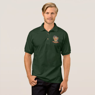 "O""Donnell Family Crest_Wisconsin Men's Color Polo"