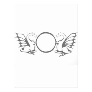 O Dragons Post Card