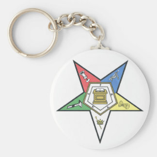 O.E.S. Products Basic Round Button Keychain