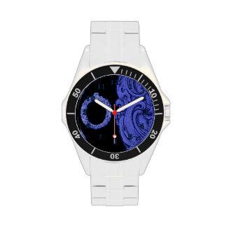 O - El alfabeto de Falck (azul) Reloj