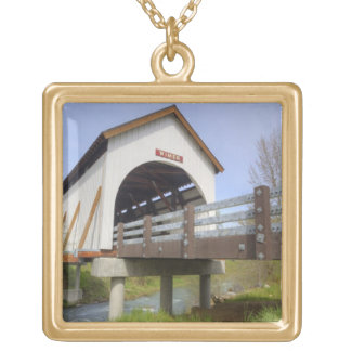 O, el condado de Jackson, puente cubierto de Wimer Colgante Cuadrado