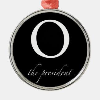 O el   el presidente ornamento para arbol de navidad