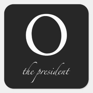 O el | el presidente pegatina