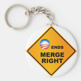 O Ends Merge Right Keychain