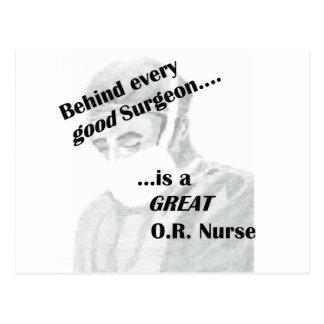O enfermera postal