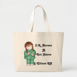 O enfermeras un corte sobre bolso bolsas de mano