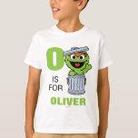 O es para Óscar el Grouch Playera