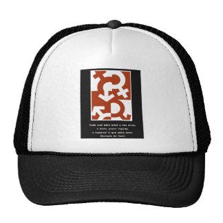 O esencial é saber amar - Machado de Assis Mesh Hats