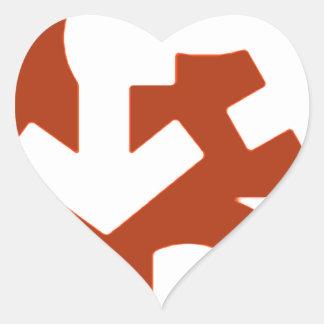 O essencial é saber amar - imagem heart sticker