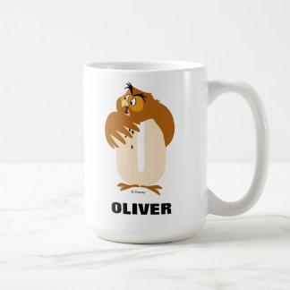 O está para el búho que los | añaden su nombre taza de café