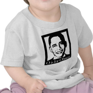 o está para la camisa ligera de obama