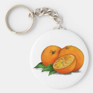 O está para los naranjas llaveros