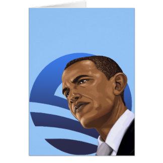 O está para Obama Barack Obama 2012 Felicitacion