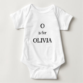 O está para Olivia Remera