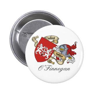 O Finnegan Family Crest Button