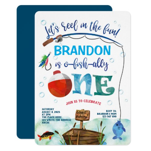 O_fish_Ally Little Fisherman Fishing Themed 1st Invitation