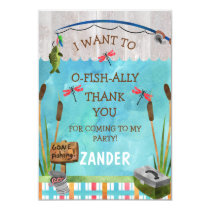 O fish ally Thank You Card