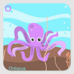 O for octopus Sticker