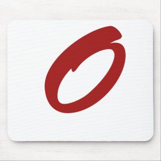 O For Original Mouse Pad