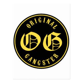 O.G. Gángster original Tarjetas Postales